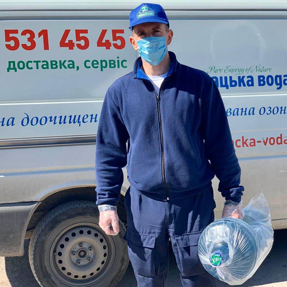 доставка бутилированной воды киев