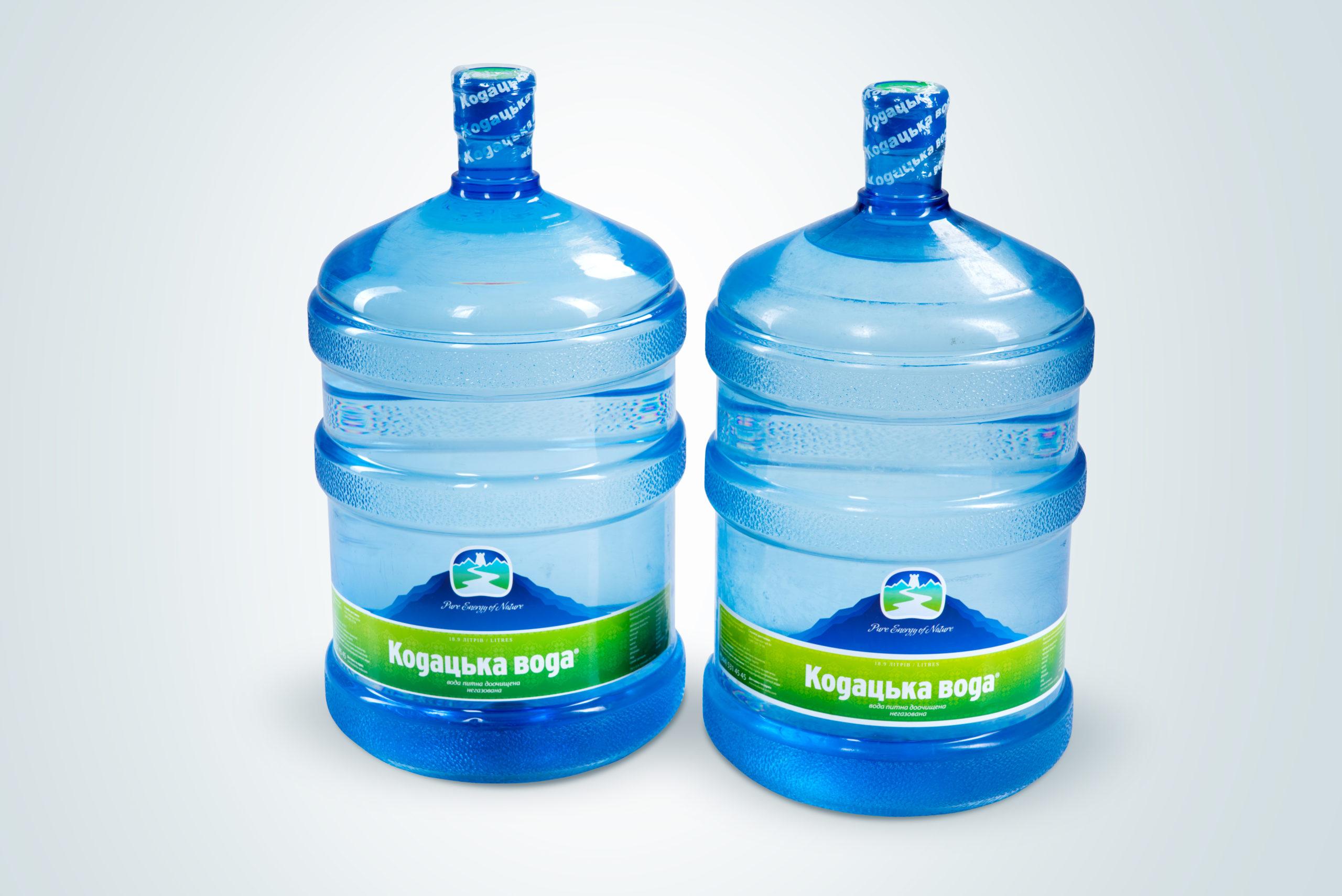 Доставка питної води в місті Київ - ТД Кодацька вода