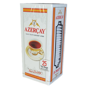 Чай чорний АЗЕРЧАЙ з бергамотом 1 уп/25 пак. (01540)