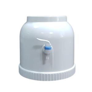 Диспенсер пластиковий круглий білий