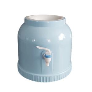 Диспенсер пластиковий круглий блакитний